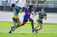 Timoci Serawalu in action during the 2018 Heartland Championship Lochore Cup rugby semifinal between Horowhenua Kapiti and Mid-Canterbury at Levin Domain in Levin, New Zealand on Saturday, 20 October 2018. Photo: Dave Lintott / lintottphoto.co.nz