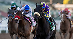 FEB 01: Midcourt with Victor Espinoza wins the San Pasqual Stakes at Santa Anita Park in Arcadia, California on Feb 01, 2020. Evers/Eclipse Sportswire/CSM