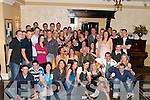 18TH: Eva Barrington, Killeen, Oakpark, Tralee (seated centre) celebrated her 18th Birthday with her parents and 100 of her friends at the Abbey Gate.Hotel, Tralee, on Tuesday night.