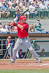 20 March 2015: Washington Nationals first baseman Tyler Moore in Spring Training action against the Houston Astros at Osceola County Stadium in Kissimmee, Florida. The Nationals defeated the Astros 7-5 in Grapefruit League play. Mandatory Credit: Ed Wolfstein Photo *** RAW (NEF) Image File Available ***