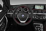 Car pictures of steering wheel view of a 2016 BMW 4 Series 428I 2 Door Convertible Steering Wheel