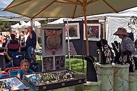 Art Show, Display Booths, Green Grass, Tents