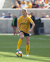 Sandy, UT - Saturday April 14, 2018: Katie Bowen during a regular season National Women's Soccer League (NWSL) match between the Utah Royals FC and the Chicago Red Stars at Rio Tinto Stadium.