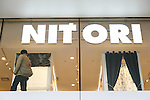 A man shops at the new Nitori department store in Shinjuku's Takashimaya Times Square on December 9, 2016, Tokyo, Japan. Nitori Holdings opened the new furniture and home accessory store in the South Hall of Tokyo's Takashimaya Times Square commercial complex on December 1st. The company plans to increase the number of its stores to 2000 overseas and 1000 in Japan by 2032. (Photo by Rodrigo Reyes Marin/AFLO)