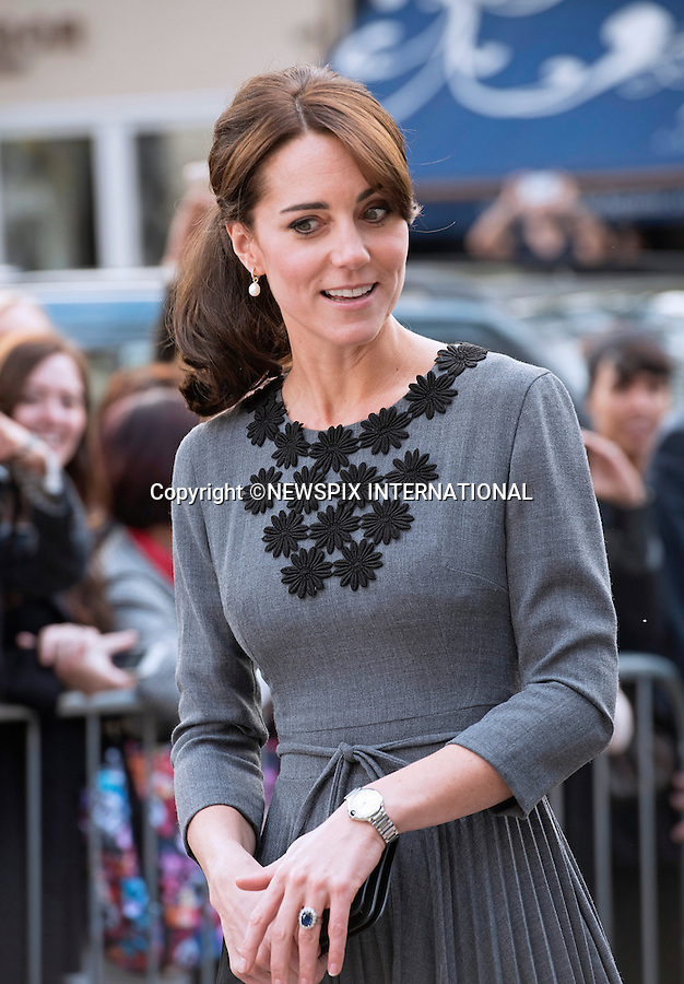 27.10.2015; London, England: KATE MIDDLETON <br />