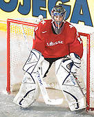Reto Berra (GCK Lions Zurich - Switzerland) The Suisse defeated Slovakia 2-1 in a 2007 World Juniors match on January 2, 2007, at FM Mattson Arena in Mora, Sweden.