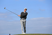 Matt Turner during Round Two of the West of England Championship 2016, at Royal North Devon Golf Club, Westward Ho!, Devon  23/04/2016. Picture: Golffile | David Lloyd<br /> <br /> All photos usage must carry mandatory copyright credit (&copy; Golffile | David Lloyd)