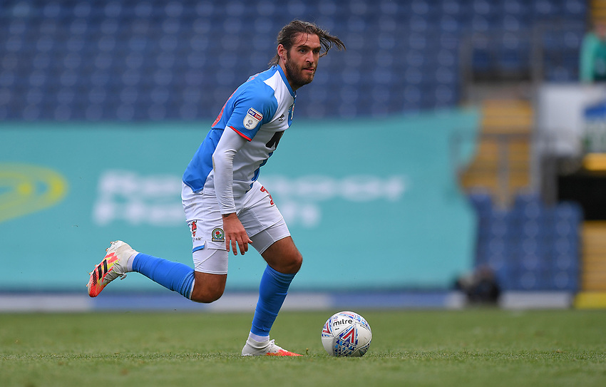 Blackburn Rovers' Danny Graham<br /> <br /> Photographer Dave Howarth/CameraSport<br /> <br /> The EFL Sky Bet Championship - Blackburn Rovers v Bristol City - Saturday 20th June 2020 - Ewood Park - Blackburn<br /> <br /> World Copyright © 2020 CameraSport. All rights reserved. 43 Linden Ave. Countesthorpe. Leicester. England. LE8 5PG - Tel: +44 (0) 116 277 4147 - admin@camerasport.com - www.camerasport.com