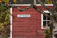 Antique shop, Jamaica, Vermont, USA