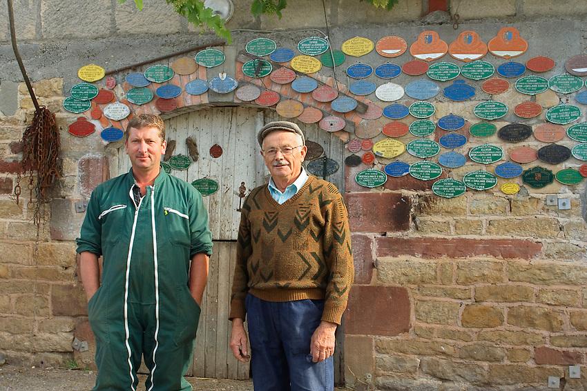 Georges et Jacques Claval<br /> Autorisation jlk-0007 et jlk0008