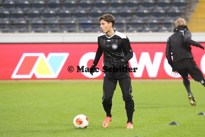 Stefano Celozzi(Eintracht) - Eintracht Frankfurt Europa League Abschlusstraining