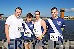 Tom Boyle, Tammy Curtin, Billy Lucy and Damien Murphy  pictured at the Rose of Tralee International 10k Race in Tralee on Sunday.