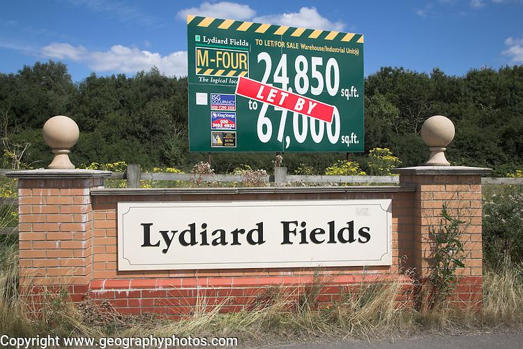 Lydiard Fields business park, Swindon, Wiltshire, England