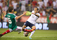 COLUMBUS, Ohio - Tuesday September 10, 2013: The USMNT defeated the National team of Mexico 2-0 during a WCQ Hexagonal round game at Crew Stadium