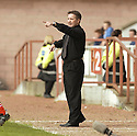 20040509    Copyright Pic: James Stewart.File Name : jspa24_clyde_v_ict.INVERNESS CALEY BOSS JOHN ROBERTSON SHOUTS OUT HIS INSTRUCTIONS TO HIS PLAYERS.....James Stewart Photo Agency 19 Carronlea Drive, Falkirk. FK2 8DN      Vat Reg No. 607 6932 25.Office     : +44 (0)1324 570906     .Mobile  : +44 (0)7721 416997.Fax         :  +44 (0)1324 570906.E-mail  :  jim@jspa.co.uk.If you require further information then contact Jim Stewart on any of the numbers above.........