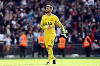 Hugo Lloris of Tottenham Hotspur during Tottenham Hotspur vs Leicester City, Premier League Football at Wembley Stadium on 13th May 2018