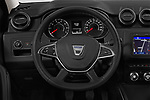 Car pictures of steering wheel view of a 2018 Dacia Duster Duster 5 Door SUV