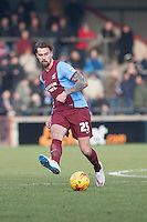 Andrew Boyce of Scunthorpe Utd<br />  - Scunthorpe United vs Oldham Athletic - Sky Bet League One Football at Glanford Park, Scunthorpe, Lincolnshire - 07/02/15 - MANDATORY CREDIT: Mark Hodsman/TGSPHOTO - Self billing applies where appropriate - contact@tgsphoto.co.uk - NO UNPAID USE