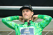 8th September 2017, Newmarket, England; OVO Energy Tour of Britain Cycling; Stage 6, Newmarket to Aldeburgh; Lars BOOM (NED) maintains the green jersey