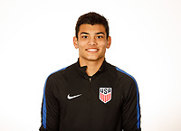 LAKEWOOD RANCH, FL : The U.S. U-16 Boys National Team headshots at Premiere Sports Complex in Lakewood Ranch, Fla., on January 4, 2018. (Photo by Casey Brooke Lawson)