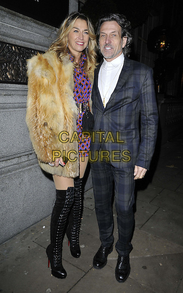 LONDON, ENGLAND - NOVEMBER 24: Anastasia Webster &amp; Stephen Webster attend the Richard Young 40th celebrity photography anniversary party, Rosewood London Hotel, High Holborn, on Monday November 24, 2014 in London, England, UK. <br /> CAP/CAN<br /> &copy;Can Nguyen/Capital Pictures