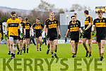 The Dr Crokes Team before the Kerry County Senior Club Football Championship Final match between East Kerry and Dr. Crokes at Austin Stack Park in Tralee, Kerry.