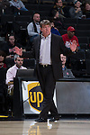North Carolina State Wolfpack head coach Wes Moore walks the sideline during first half action against the Wake Forest Demon Deacons at the LJVM Coliseum on January 8, 2017 in Winston-Salem, North Carolina.  The Wolfpack defeated the Demon Deacons 65-50.  (Brian Westerholt/Sports On Film)
