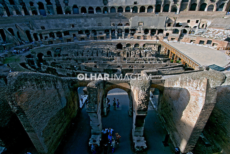 Ruínas do Coliseu, Roma. Italia. 2006. Foto de Luciana Whitaker.