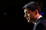 National Harbor, Maryland, USA. 6th March 2014. Republican congressman Paul Ryan of Wisconsin speaks during an address to delegates at the Conservative Political Action Conference (CPAC). Alamy/Trevor Collens.