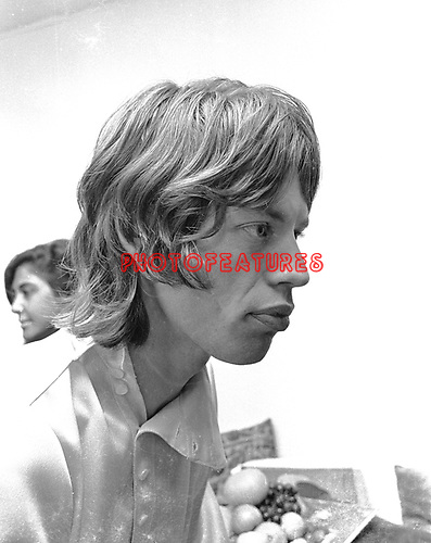 Rolling Stones 1968 Mick Jagger..