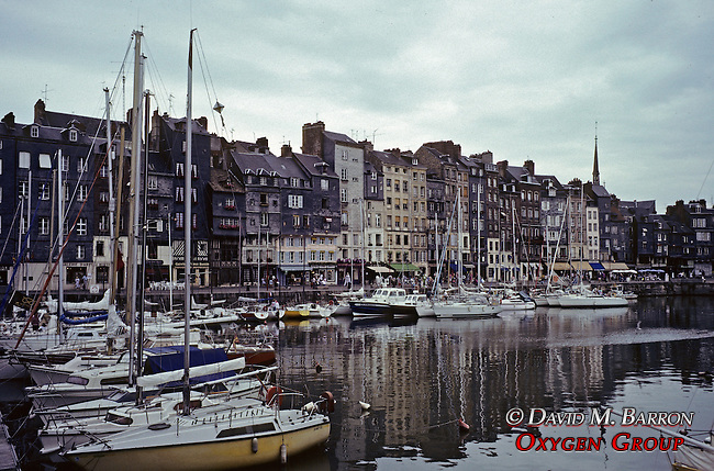 The Old Port At Honfleur