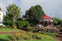 Jardim Florencio Terra in Horta auf der Insel Faial, Azoren, Portugal