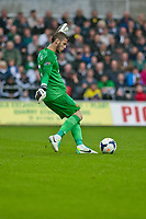 Saturday 17 August 2013<br /> <br /> Pictured: David de Gea of Manchester United<br /> <br /> Re: Barclays Premier League Swansea City v Manchester United at the Liberty Stadium, Swansea, Wales