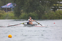 Race: 35  W.1x (Band 2)  Heat 3<br /> <br /> Peterborough Summer Regatta 2018 - Sunday<br /> <br /> To purchase this photo, or to see pricing information for Prints and Downloads, click the blue 'Add to Cart' button at the top-right of the page.