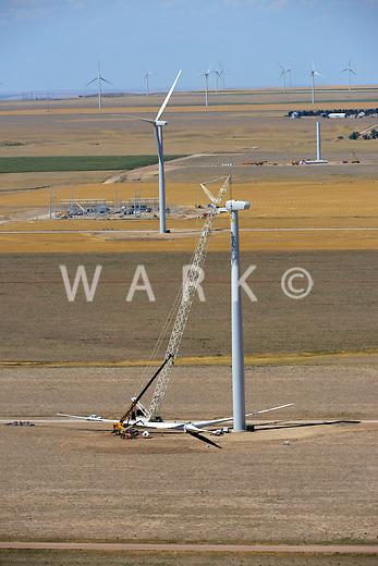 Wind Farm, north of Limon, Colorado.  2012