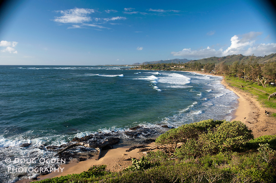 A beautiful day at Wailua Bay,  Kauai, Hawaii