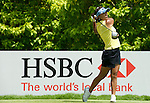 SINGAPORE - MARCH 08:  Mi Hyun Kim of South Korea tees of on the par four 6th hole during the final round of HSBC Women's Champions at the Tanah Merah Country Club on March 8, 2009 in Singapore. Photo by Victor Fraile / The Power of Sport Images