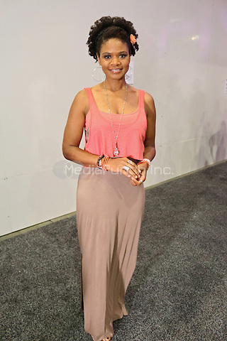 NEW ORLEANS, LA - JULY 2, 2016 Kimberly Elise backstage at the Essence Festival, July 2, 2016 at The New Orleans Convention Center in New Orleans Louisiana. Photo Credit: Walik Goshorn / Media Punch