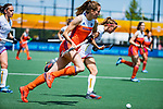 Den Bosch  -  Debutant in het grote Oranje, Felice Albers (Ned)     tijdens  de Pro League hockeywedstrijd dames, Nederland-Belgie (2-0).    COPYRIGHT KOEN SUYK