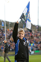 A general view of the pre-match guard of honour. European Rugby Champions Cup match, between Bath Rugby and Leinster Rugby on November 21, 2015 at the Recreation Ground in Bath, England. Photo by: Rogan Thomson / JMP for Onside Images