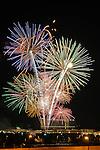 Fireworks at Bridge Street Town Centre Saturday evening July 4th, 2009.  Bob Gathany photographer