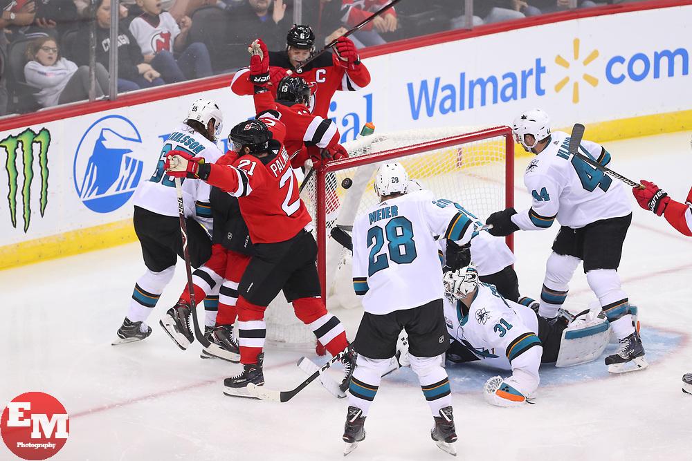 meet e7f23 e4812 NHL: San Jose Sharks at New Jersey Devils   Ed Mulholland ...