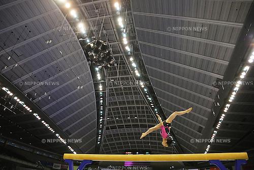 Natsumi Sasada (JPN), <br /> June 30, 2013 - Artistic Gymnastics : <br /> The 67th All Japan Artistic Gymnastics Apparatus Championship, Women's Balance Beam Final <br /> at Tokyo Metropolitan Gymnasium, Tokyo, Japan. <br /> (Photo by Daiju Kitamura/AFLO SPORT)