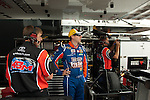 June 11 2010: Kyle Busch and crewwmen before practice for the VFW 200 NASCAR Camping World Truck Series race at Michigan International Speedway, Brooklyn, Michigan
