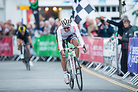 Picture by Alex Whitehead/SWpix.com - 15/07/2016 - Cycling - British Cycling Elite Circuit Series - Wales Open Criterium - Abergavenny, Monmouthshire, Wales - NFTO's Ian Bibby wins.