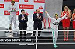 Podium -  Nico Rosberg (GER), Mercedes GP - Lewis Hamilton (GBR), Mercedes GP<br />  Foto &copy; nph / Mathis
