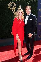 PASADENA - APR 30: Daphne Oz, Dr. Mehmet Oz at the 44th Daytime Emmy Awards at the Pasadena Civic Center on April 30, 2017 in Pasadena, California