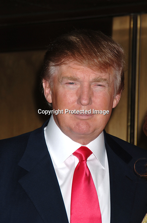 Donald Trump ..arriving for The NBC Upfront announcement of their Fall 2006-2007 Schedule on May 15, 2006 at Radio City Music ..Hall...Robin Platzer, Twin Images