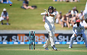 9th December 2017, Seddon Park, Hamilton, New Zealand; International Test Cricket, 2nd Test, Day 1, New Zealand versus West Indies;  Tom Latham batting