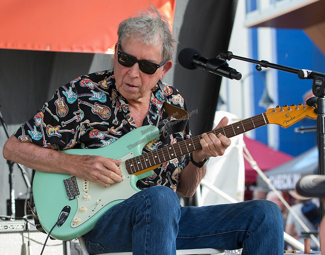Elvin Bishop performs during the 24th Annual Great Eldorado Brews and Blues Festival in Reno, Nevada on Saturday, June 15, 2019.